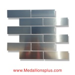 Brick Stainless Steel Tile