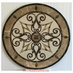"KRISTINE, 36"" Waterjet Medallion"