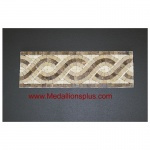 "Harmony, Honed Mosaic Tile Listello 4"" x 12"""