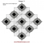 Waterjet Tile - Design 11